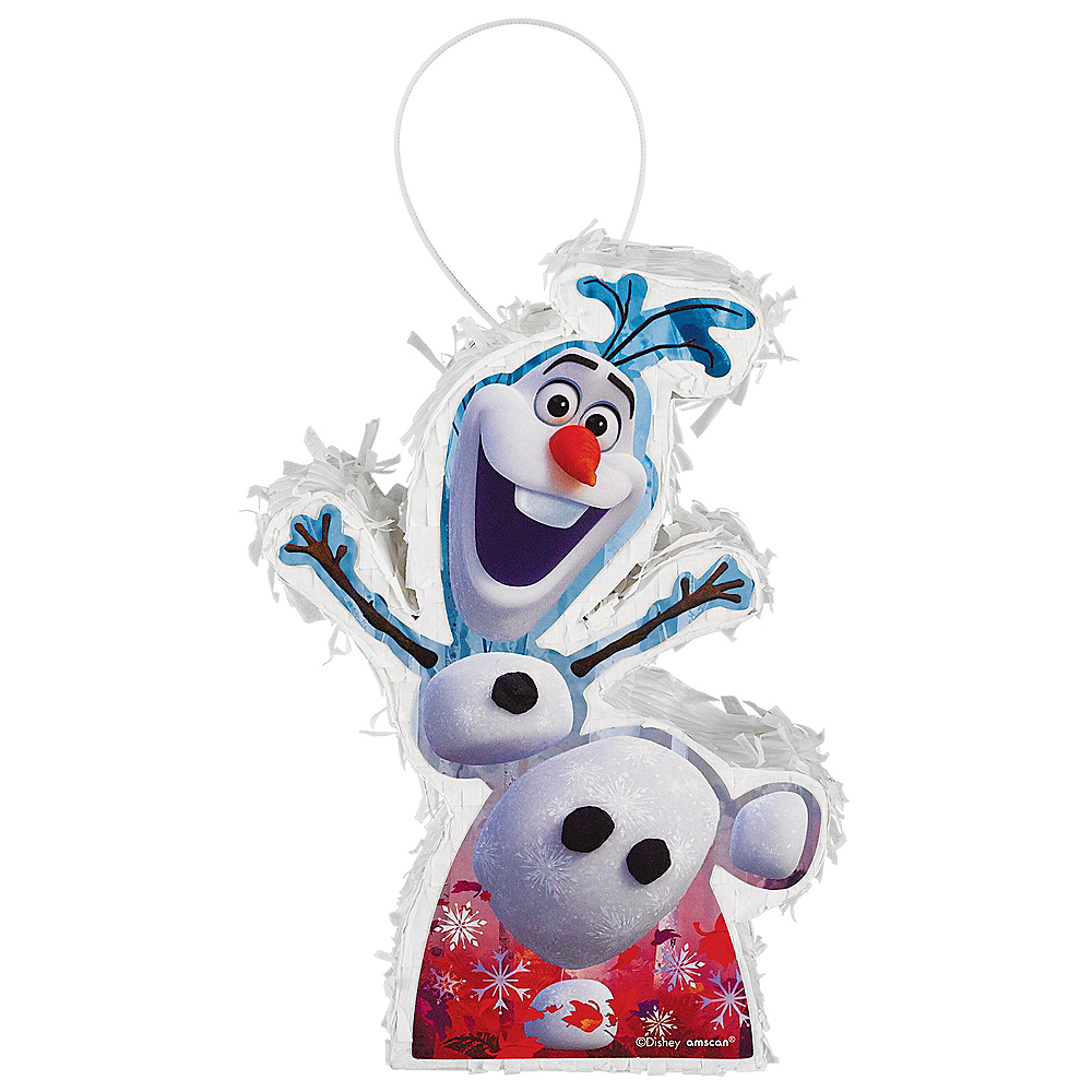Mini Olaf Pinata Decoration - Frozen 2 Image #1