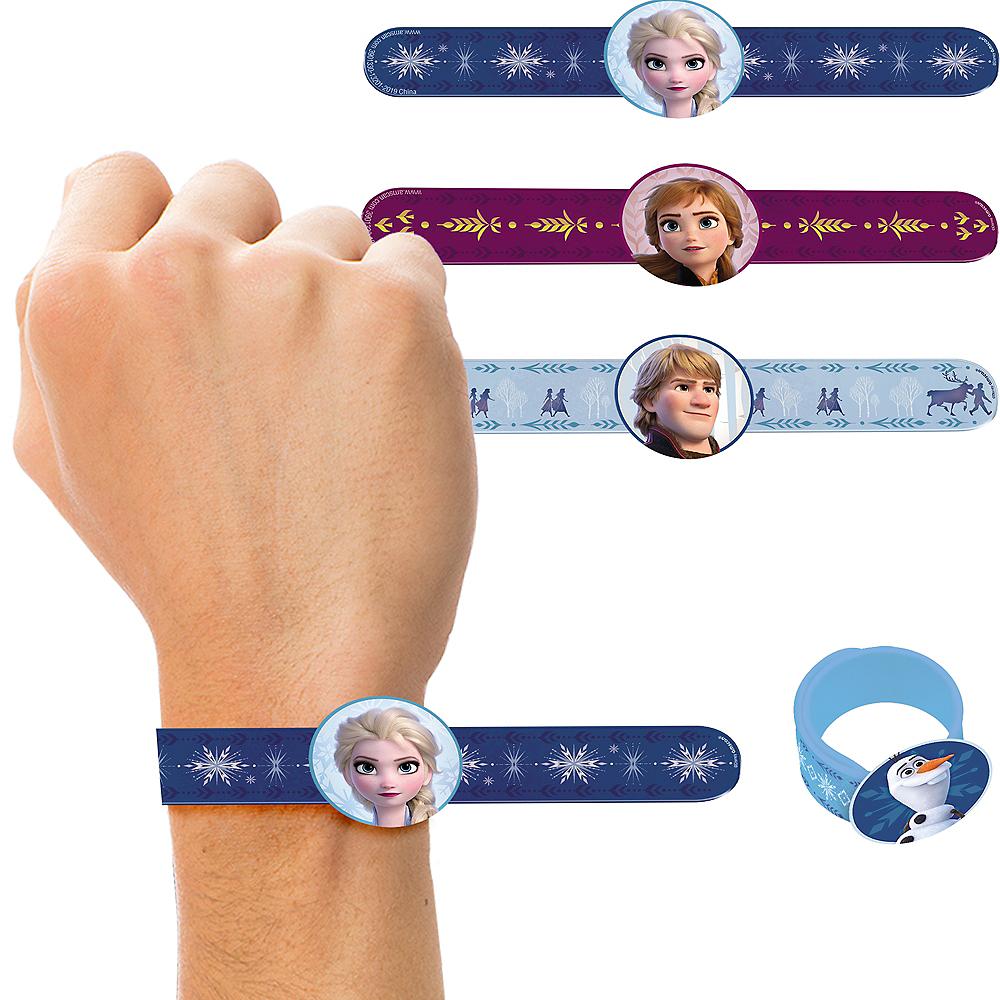 Frozen 2 Slap Bracelets 4ct Image #1