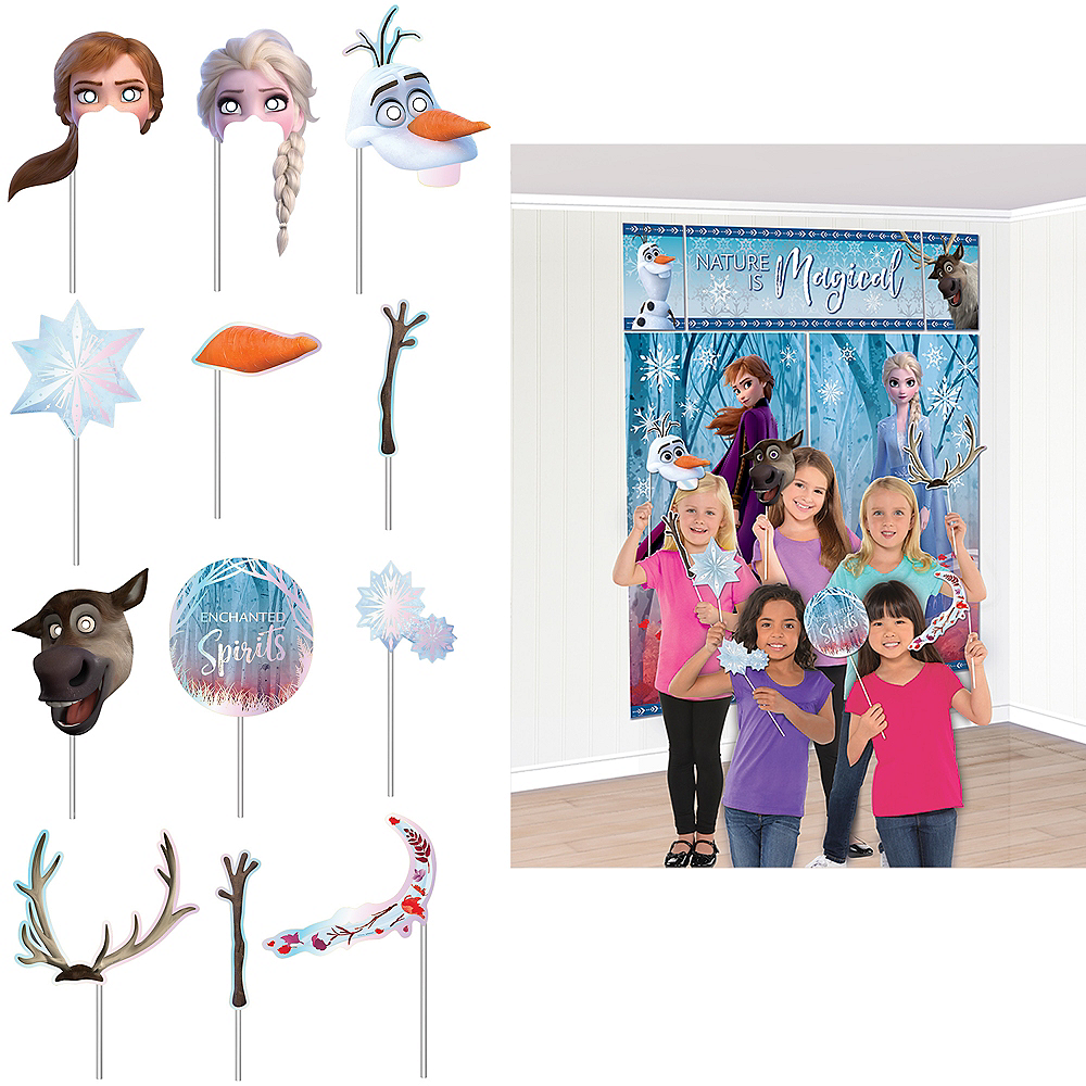 Frozen 2 Scene Setter with Photo Booth Props Image #1