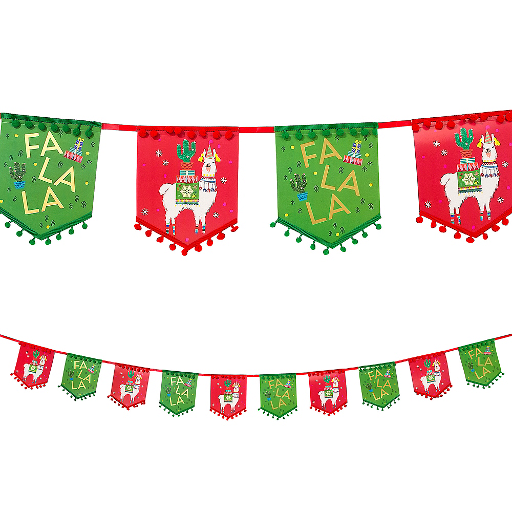 Nav Item for Festive Christmas Pennant Banner Image #1