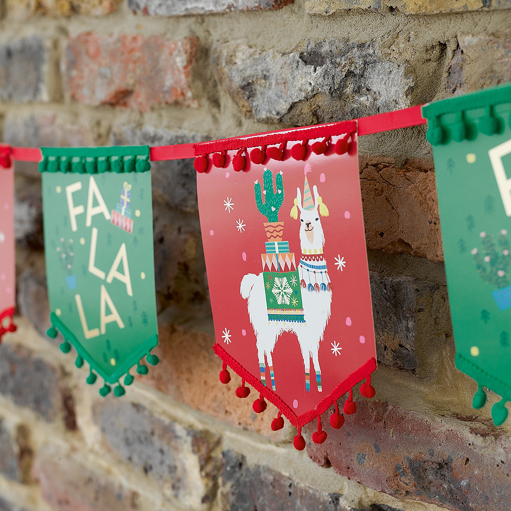 Nav Item for Festive Christmas Pennant Banner Image #3