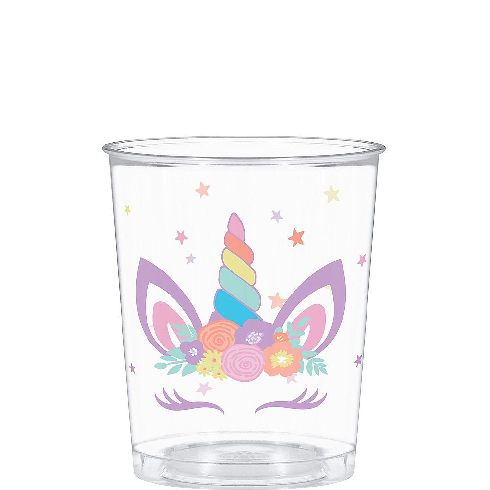 Unicorn Party Favor Cup Image #1