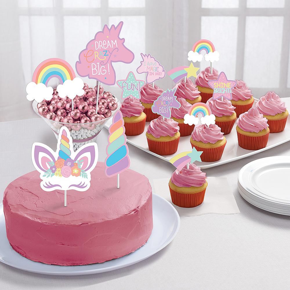 Unicorn Party Dessert Decorating Kit 11pc Image #1