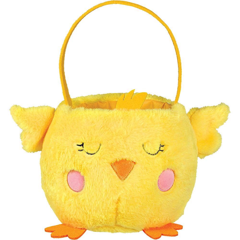 Plush Chick Easter Basket Image #1