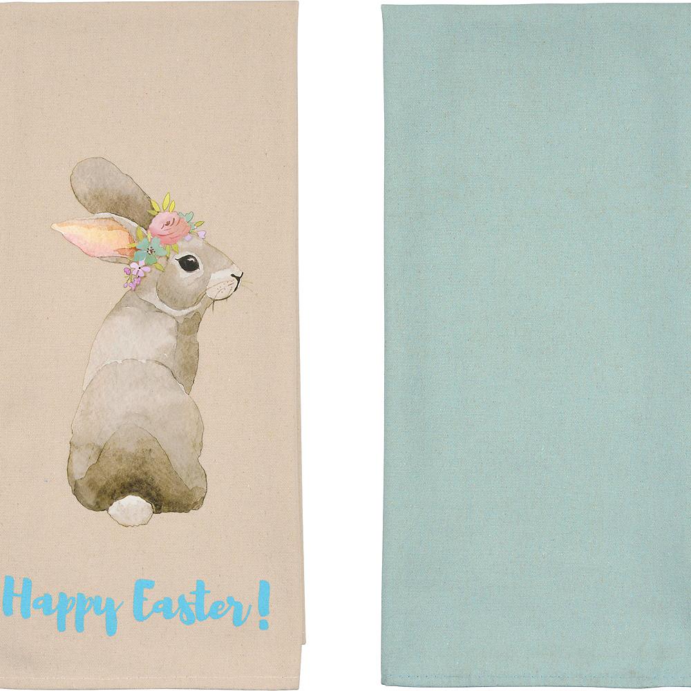 Easter Rabbit Tea Towels 2ct Image #1