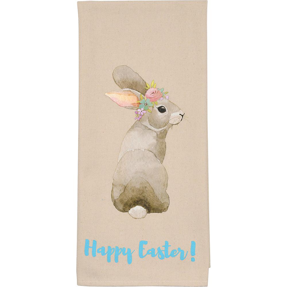Easter Rabbit Tea Towels 2ct Image #2