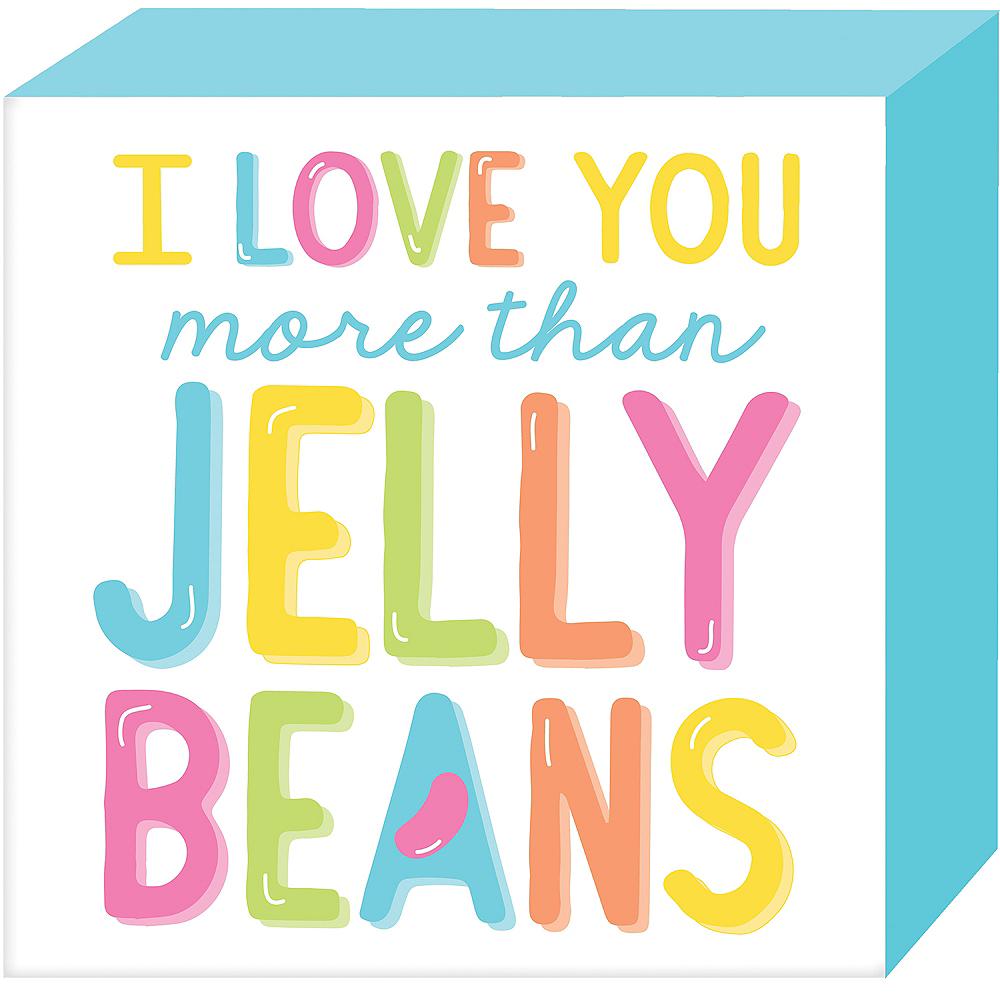 Jelly Bean Love Block Sign Image #1