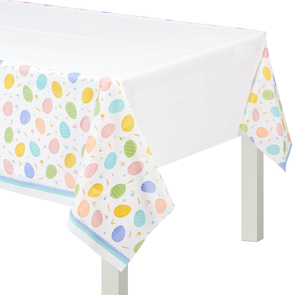 Pretty Pastel Easter Table Cover Image #1