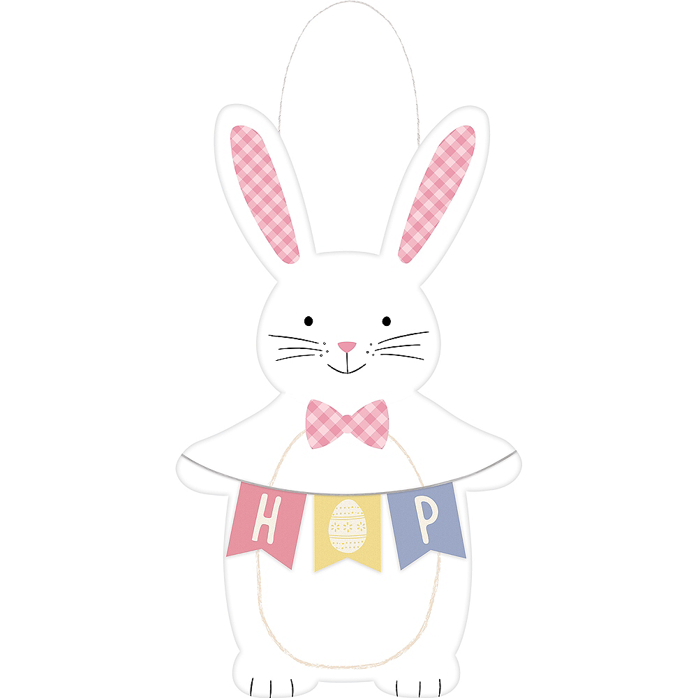 Nav Item for Spring Bunny Easter Easel Sign Image #1