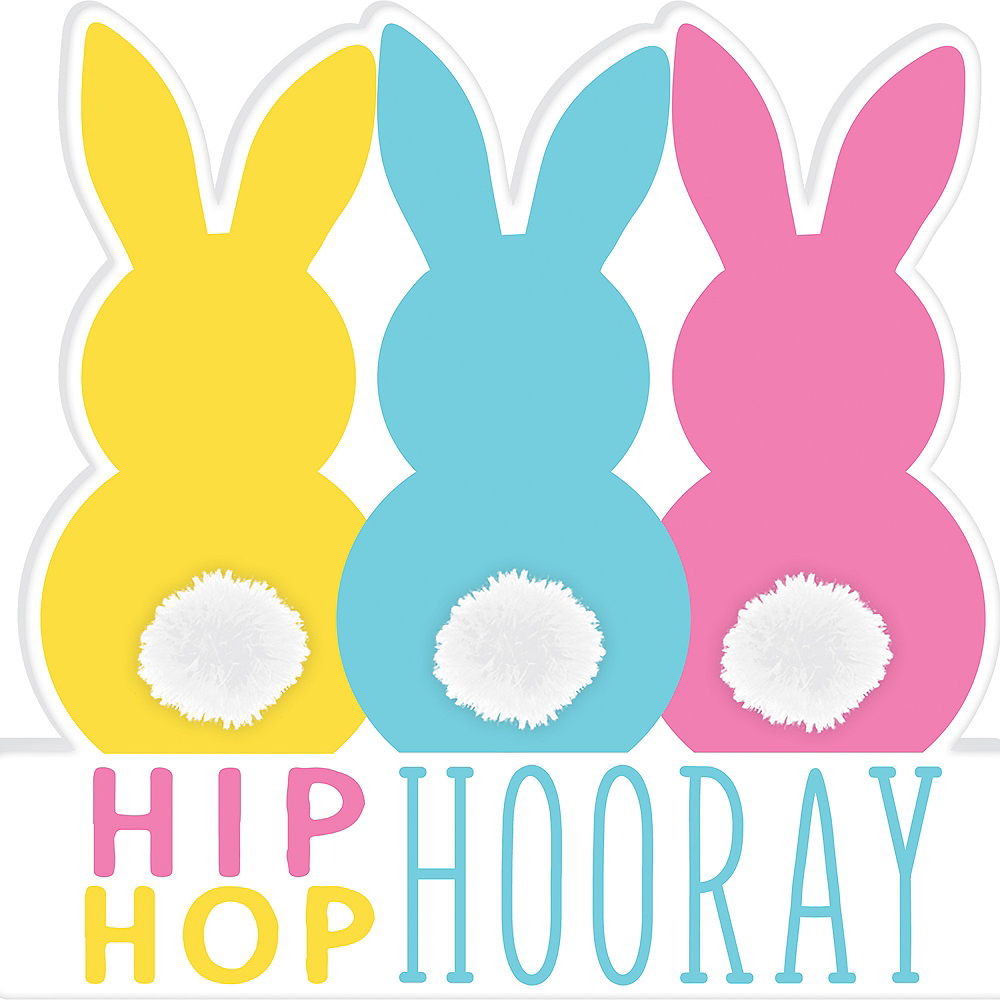 Cottontail Bunnies Table Sign Image #1