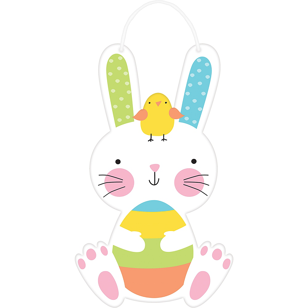 Easter Hello Bunny Sign Image #1
