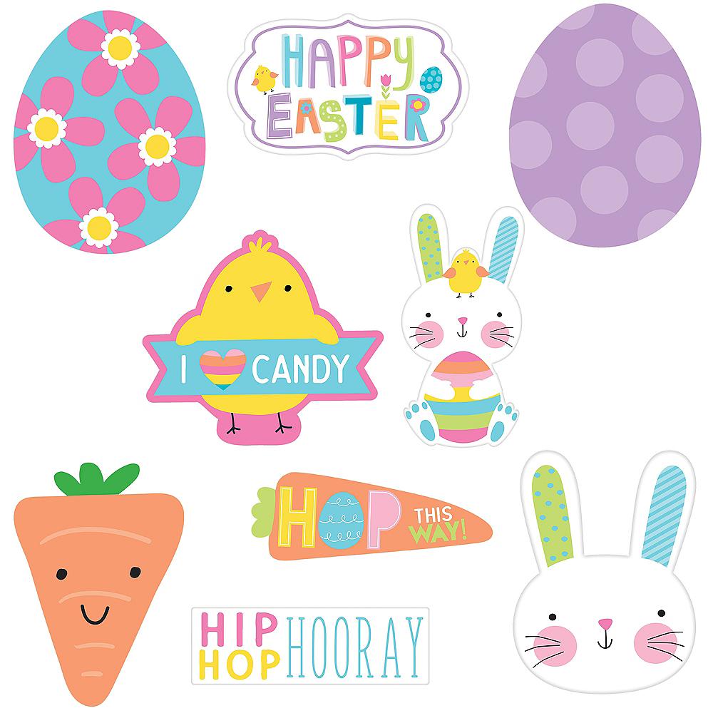 Hooray Easter Hello Bunny Cutouts 30ct Image #1