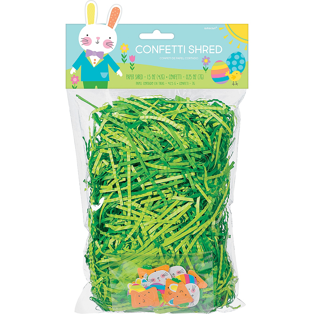 Nav Item for Hello Bunny Paper Easter Grass & Confetti Image #1