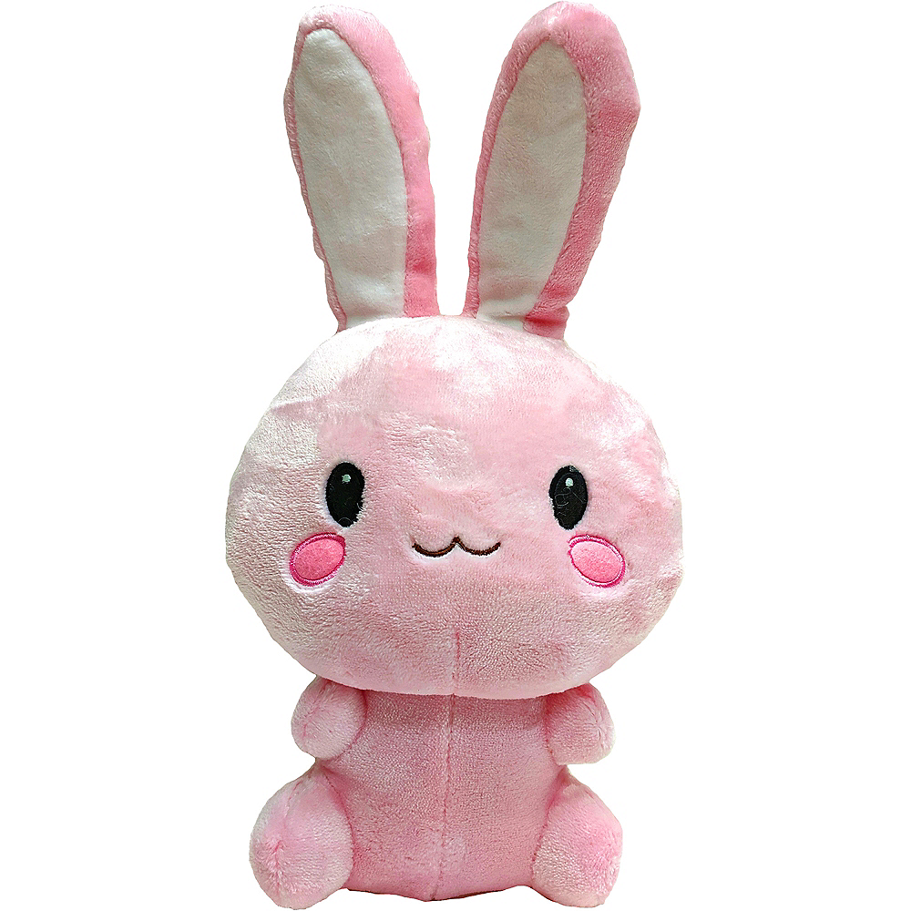 Nav Item for Kawaii Pink Bunny Plush Image #1