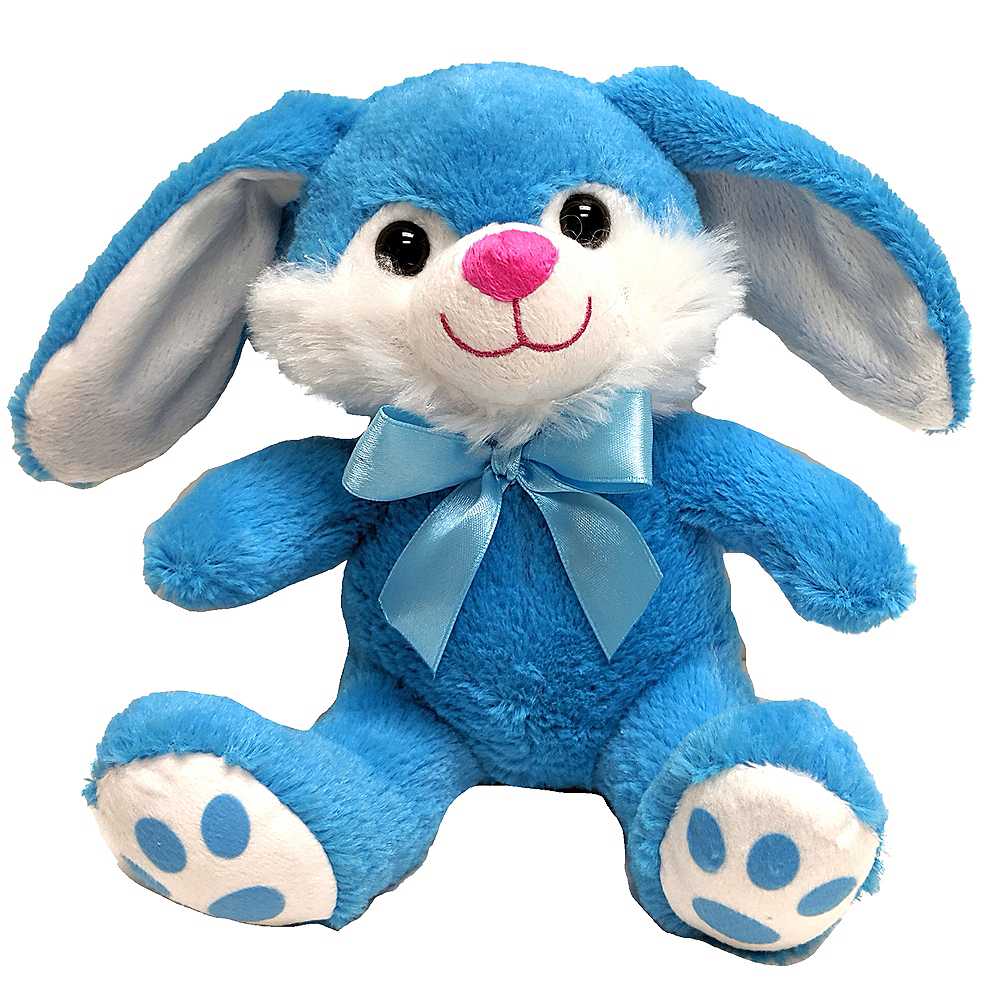 Nav Item for Blue Bowtie Easter Bunny Plush Image #1