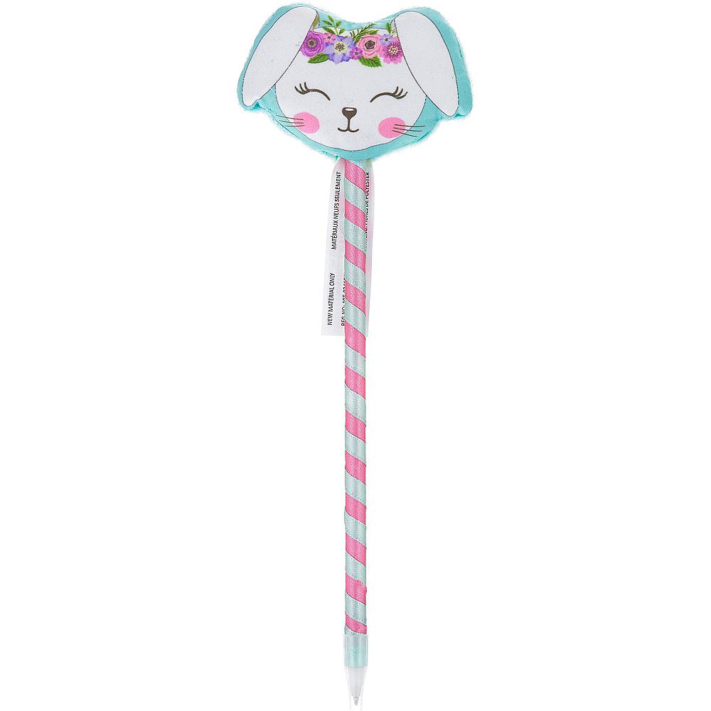Blushing Bunny Plush Pen Image #1