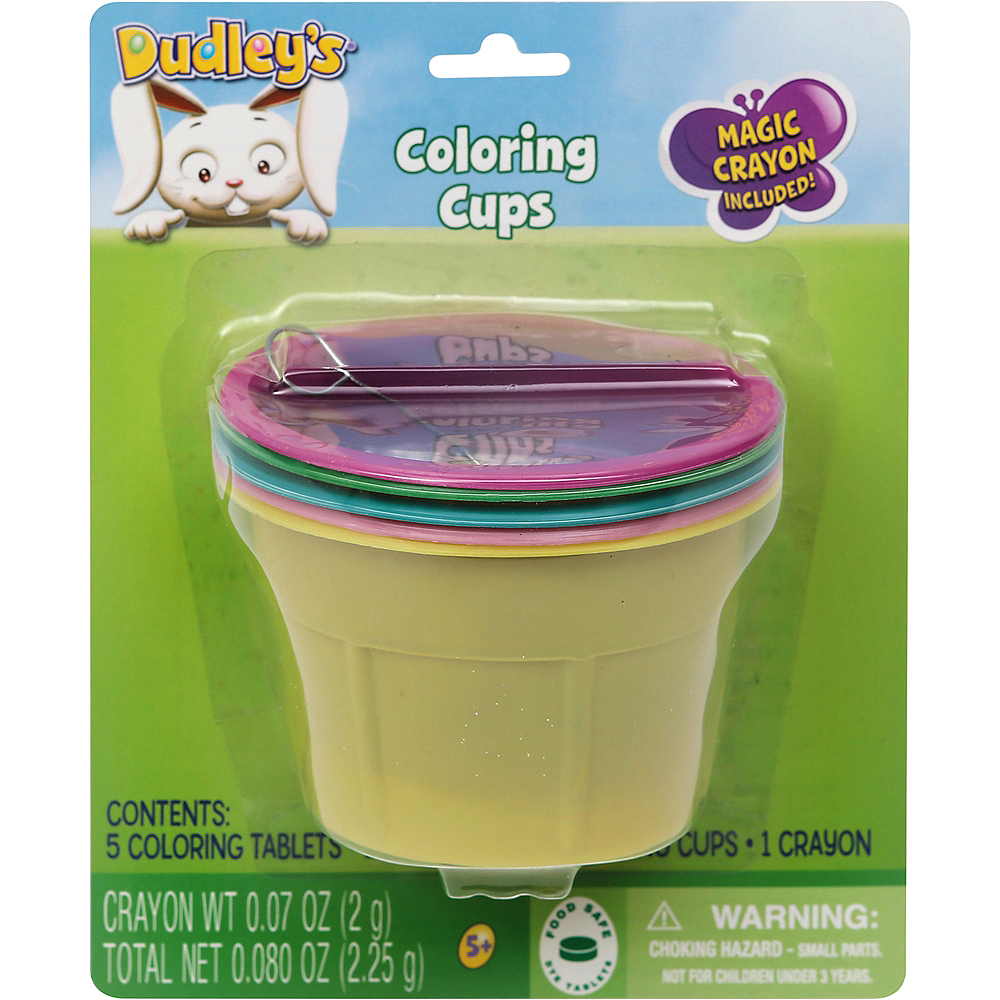 Easter Egg Coloring Cups Image #1