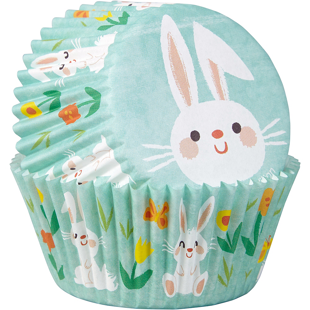 Wilton Springtime Bunny Baking Cups 75ct Image #2