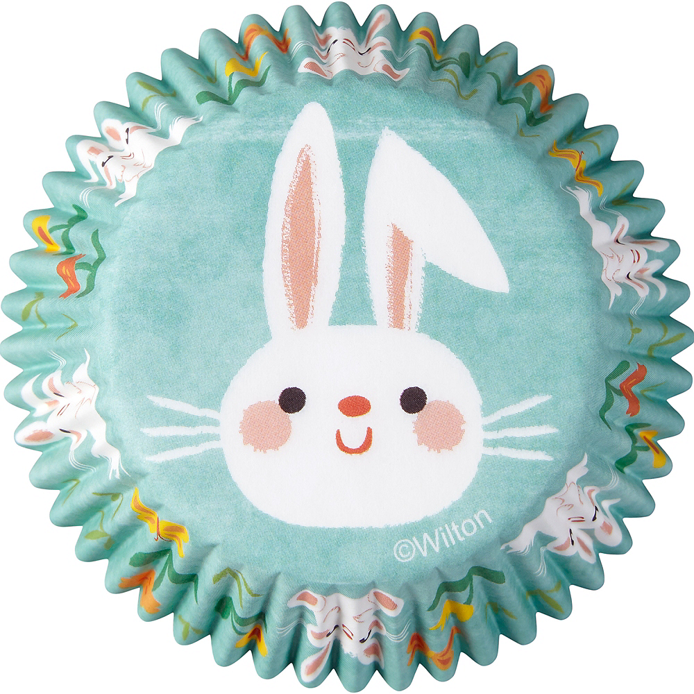 Wilton Springtime Bunny Baking Cups 75ct Image #3