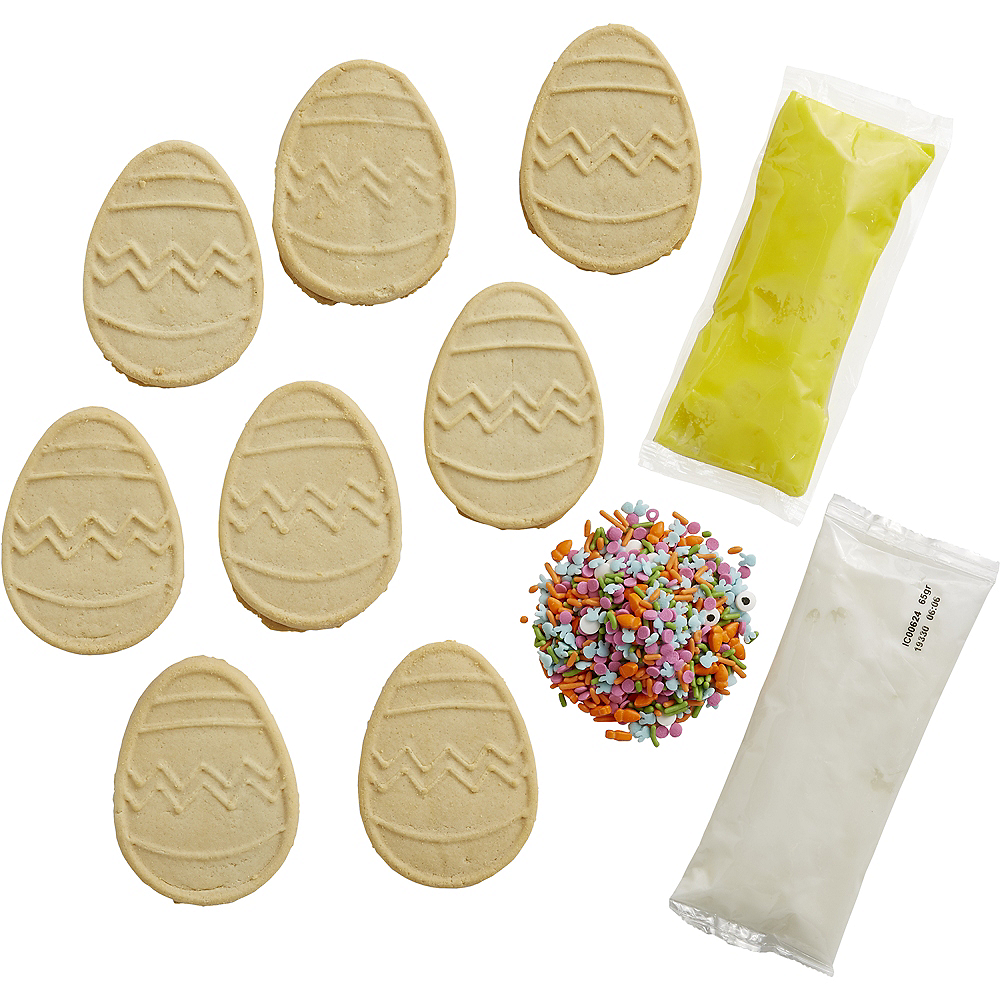 Wilton Ready-to-Decorate Easter Egg Cookie Kit Image #3