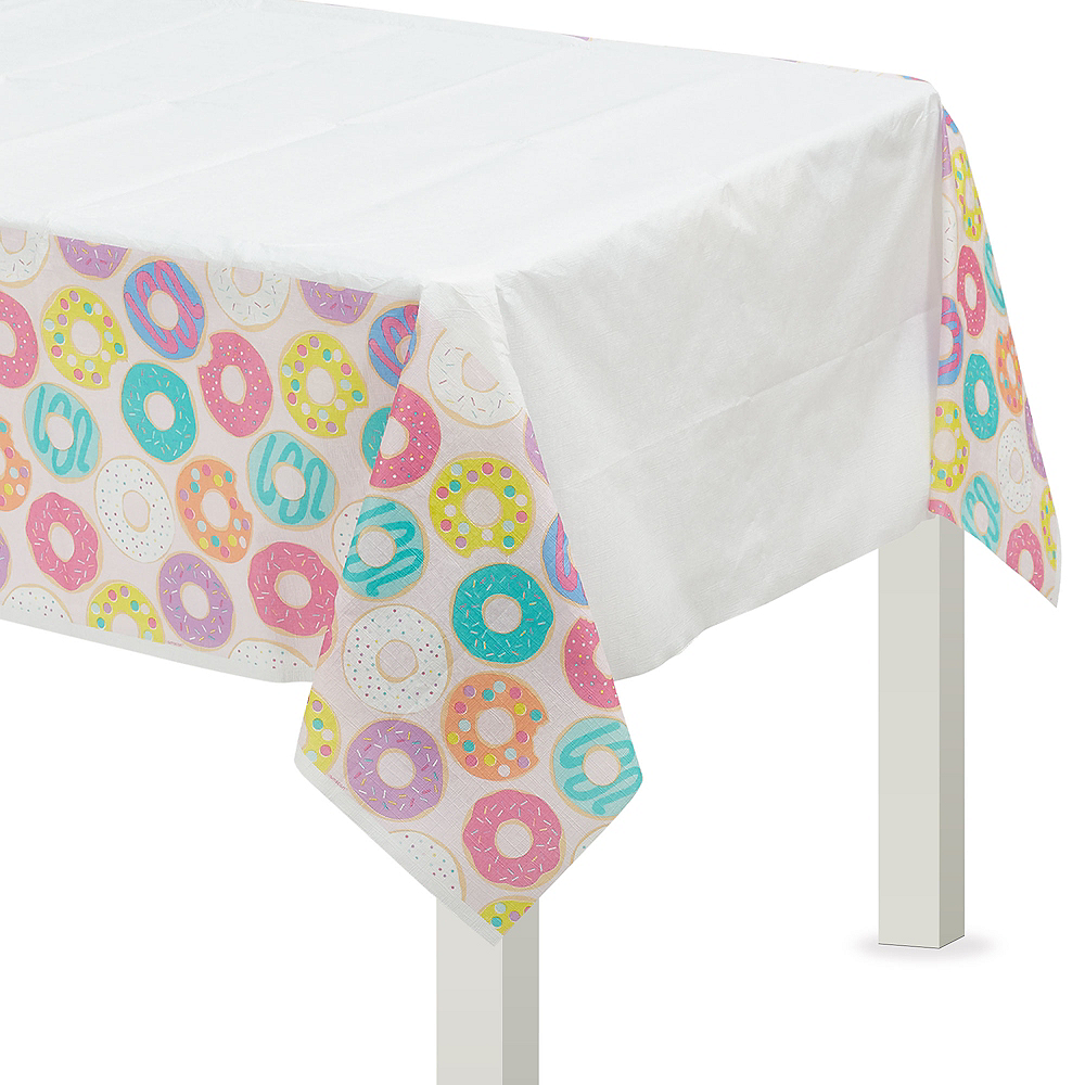 Donut Party Table Cover Image #1