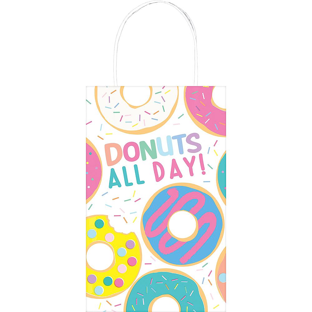 Donut Party Kraft Bag 8ct Image #1