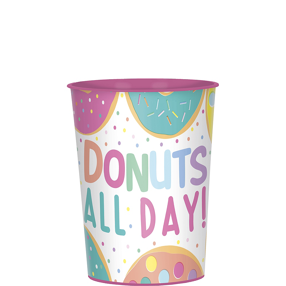 Donut Party Favor Cup Image #1