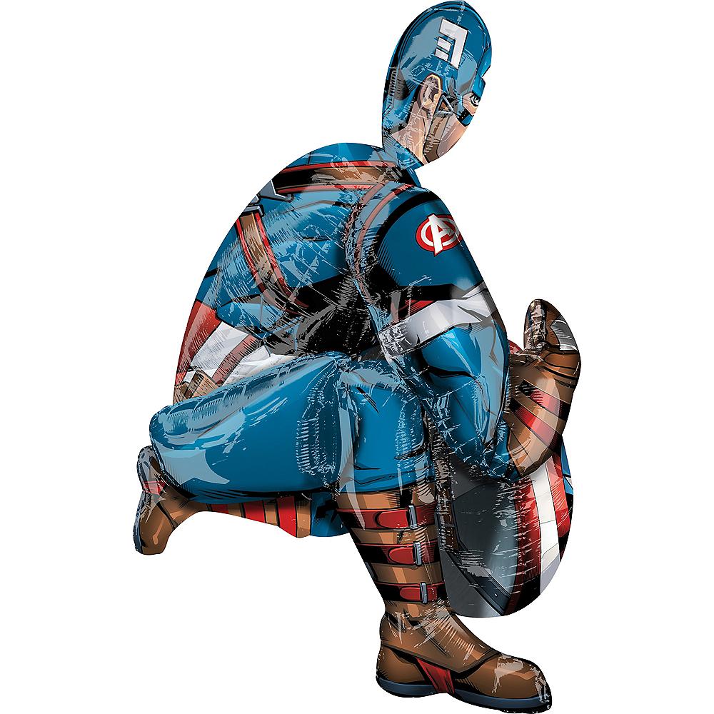 Giant Gliding Captain America Balloon Image #2