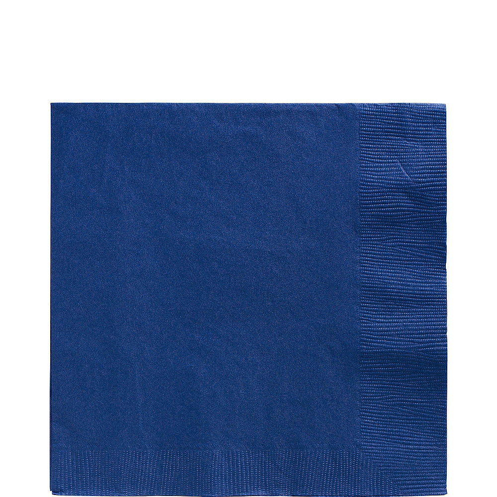 Royal Blue Paper Tableware Kit for 20 Guests Image #5