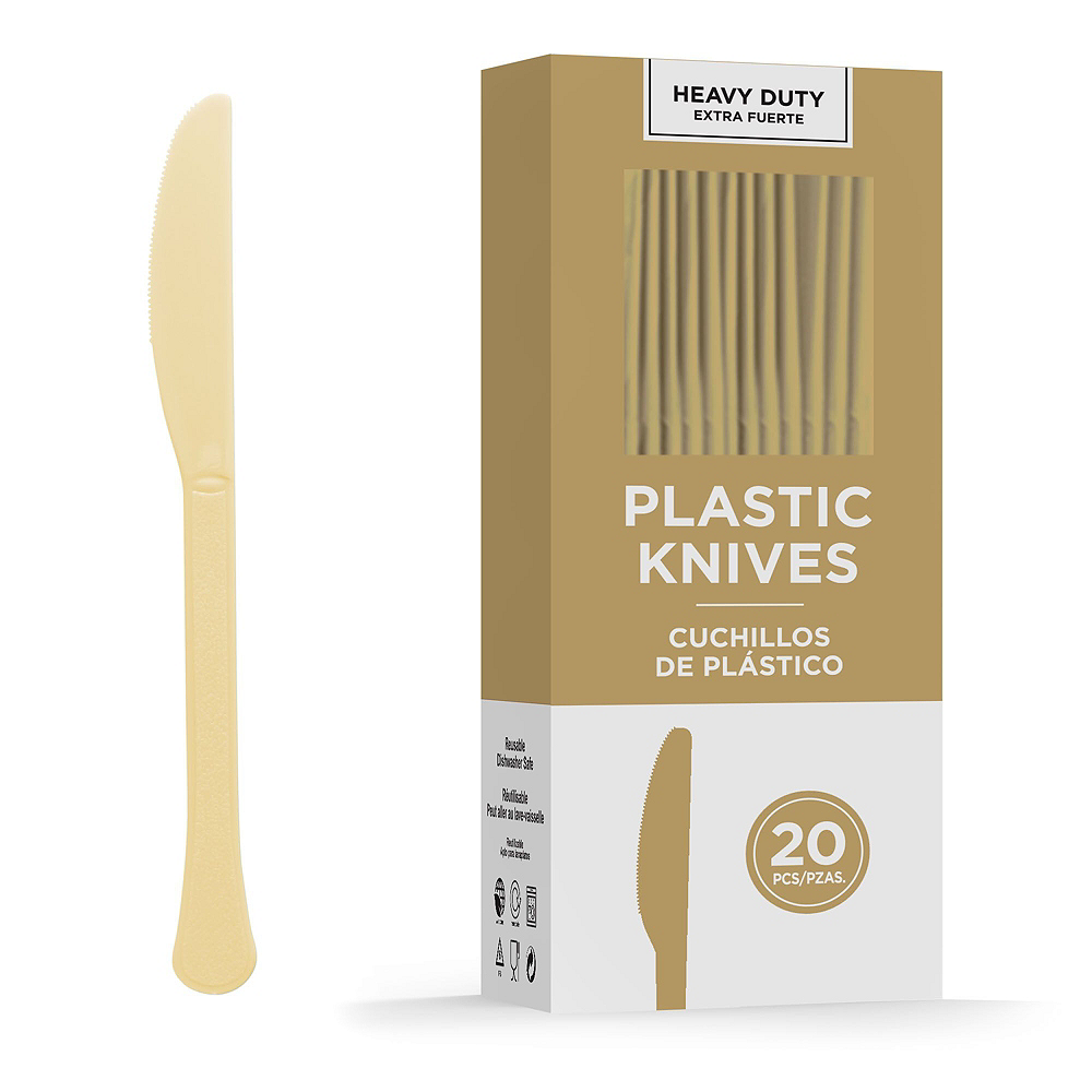 Gold Tableware Kit for 20 Guests Image #10