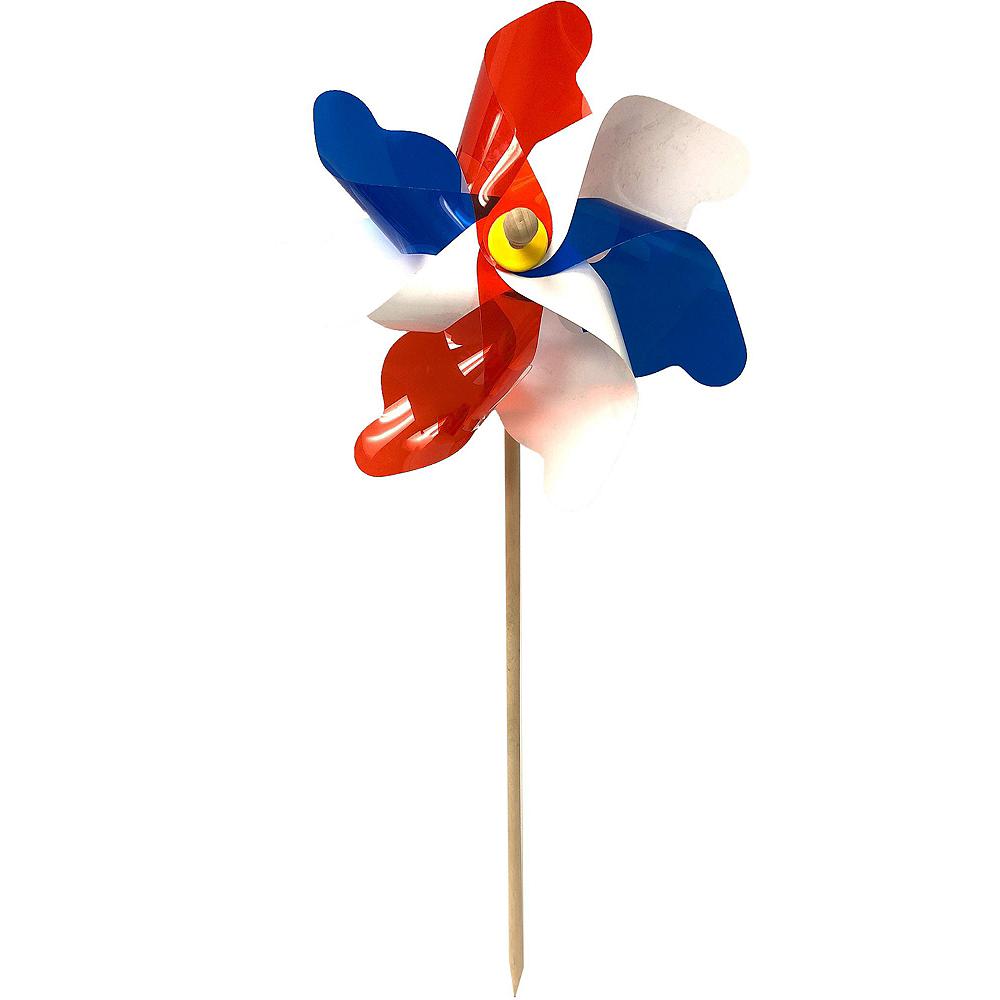 Patriotic American Flag Yard Stake Decorating Kit 6pc Image #3