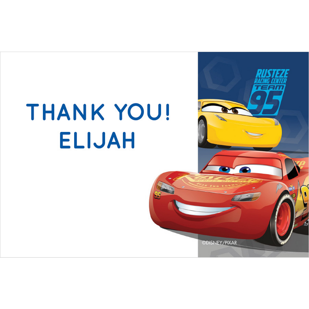 Custom Cars 3 Thank You Notes Image #1