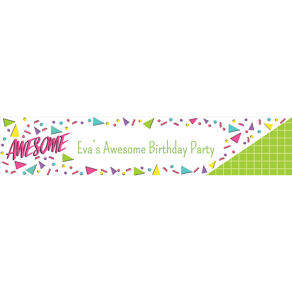 Custom Awesome Party Table Runner Image #1