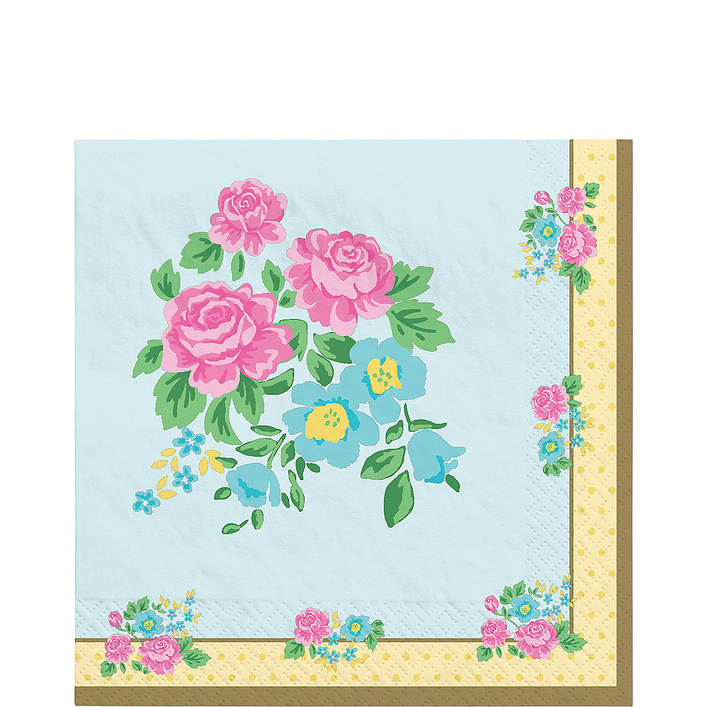Tea Party Lunch Napkins 16ct Image #1