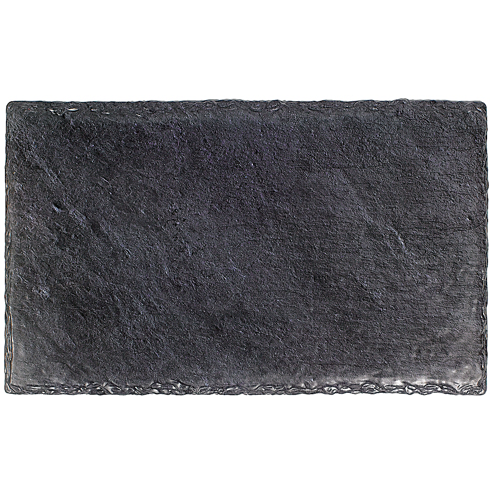 Faux Black Slate Melamine Rectangular Cheese Board Image #1