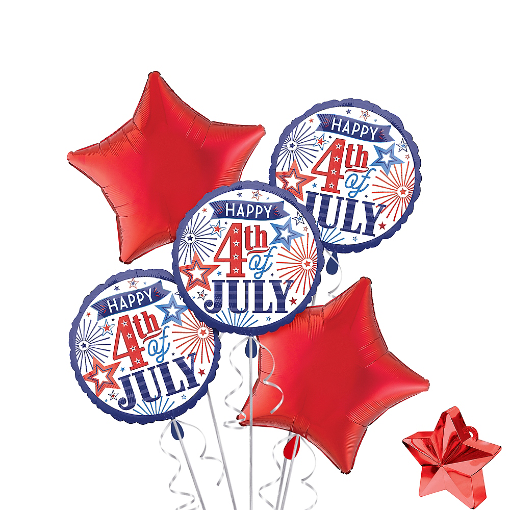 4th of July Balloon Kit 7pc Image #1