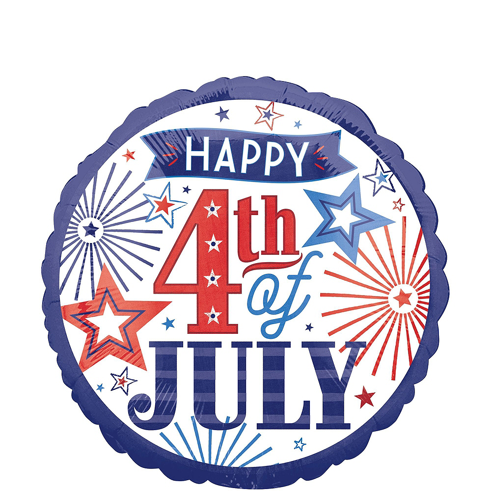 Patriotic 4th of July Balloon Kit 20ct Image #5