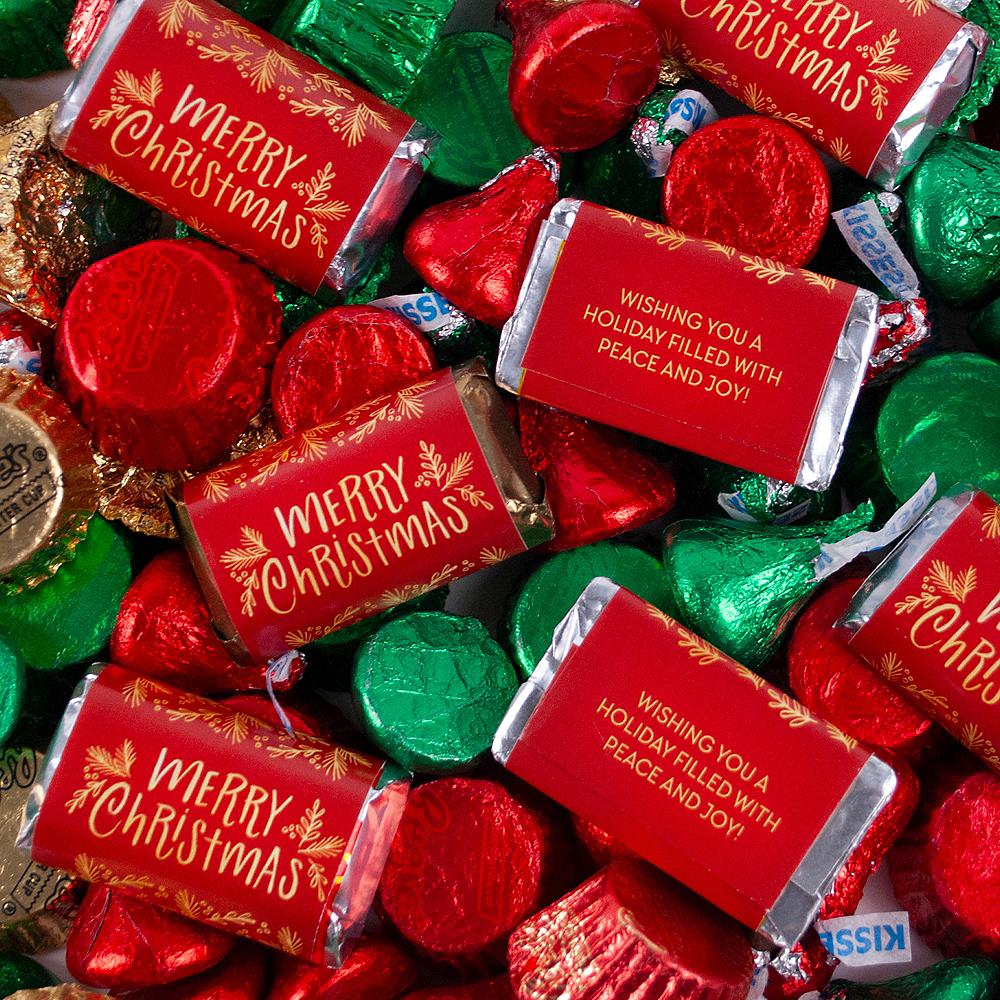 Merry Christmas Hershey's Mix 180pc Image #1