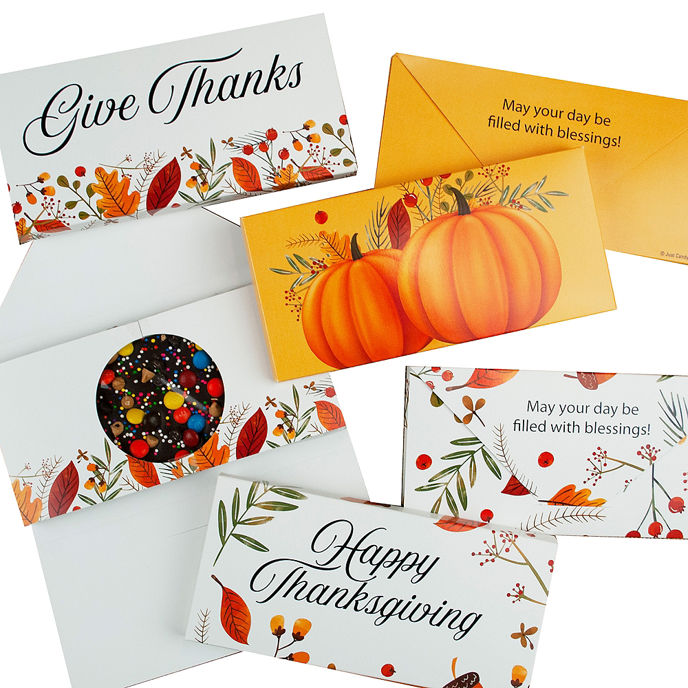 Thanksgiving Gourmet Chocolate Bars 6ct Image #1