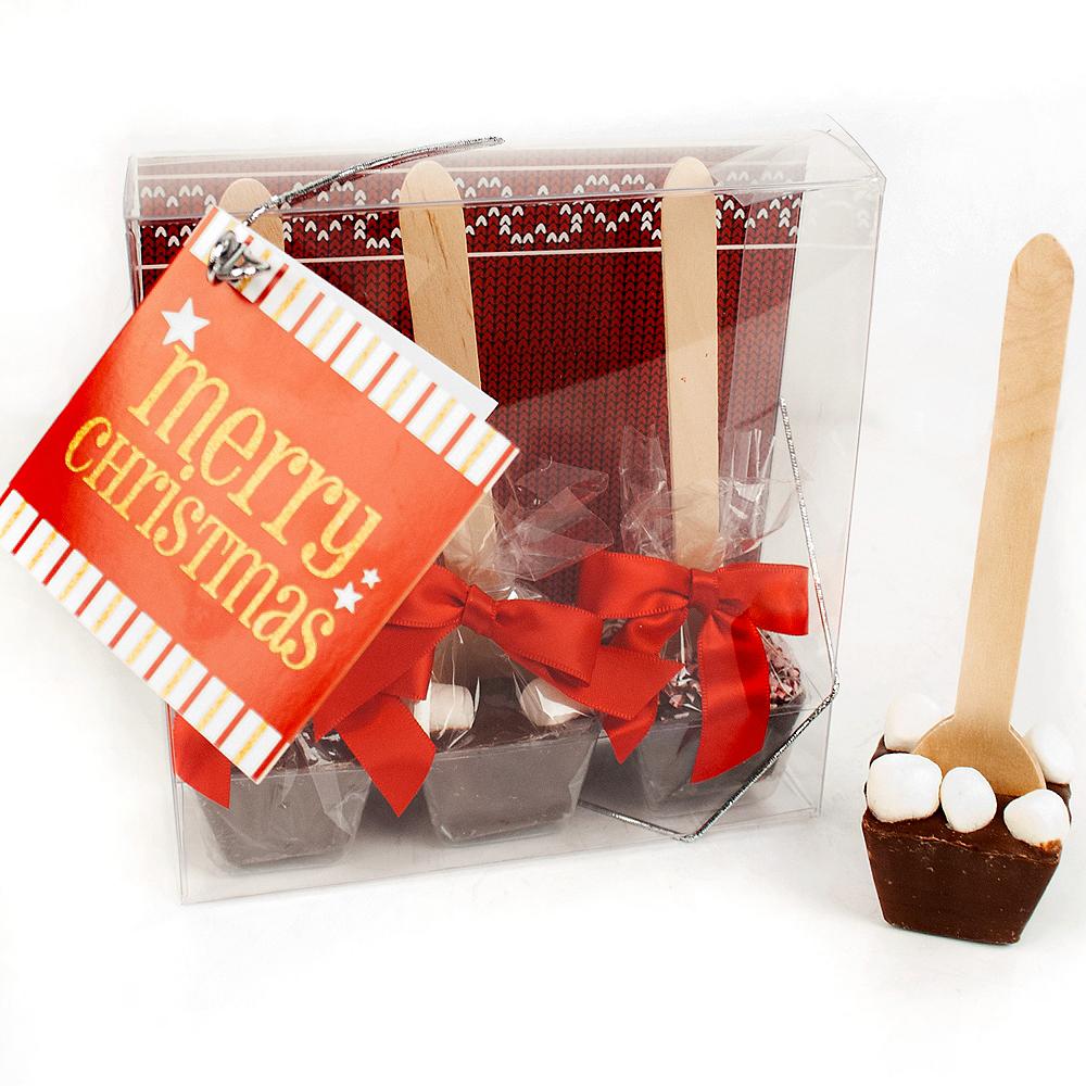 Christmas Hot Chocolate Spoons 3ct Image #1