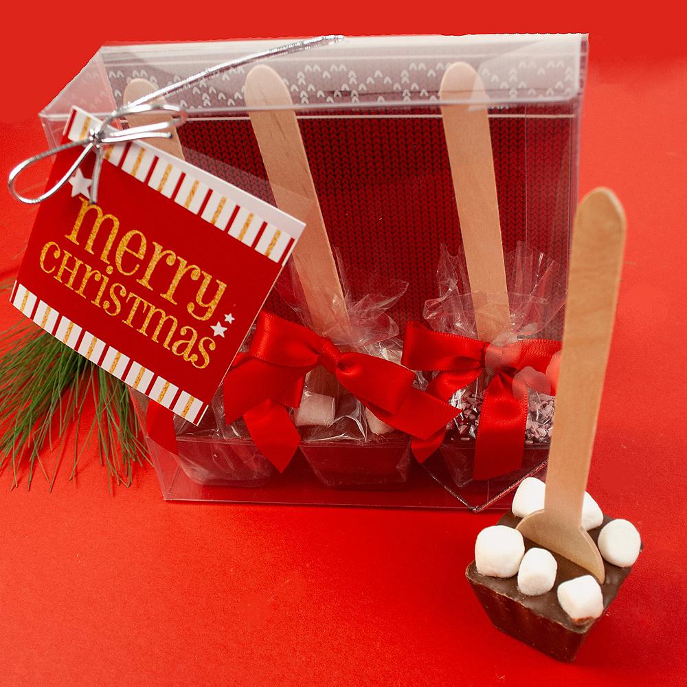 Christmas Hot Chocolate Spoons 3ct Image #2