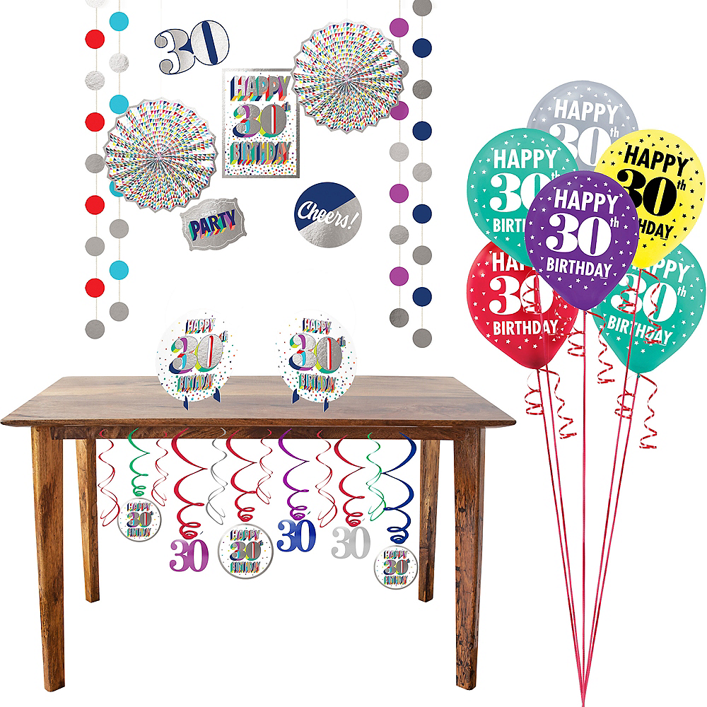 Here's to 30 Decorating Kit Image #1
