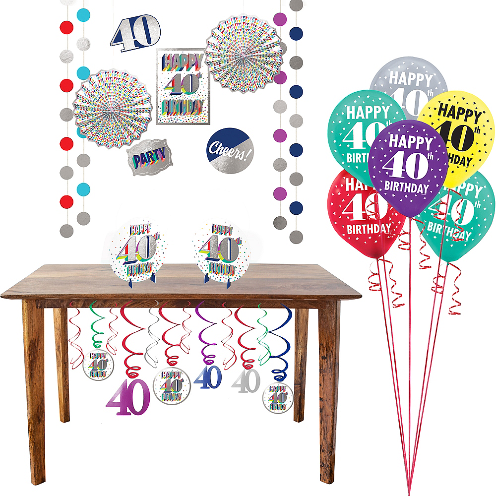 Here's to 40 Decorating Kit Image #1