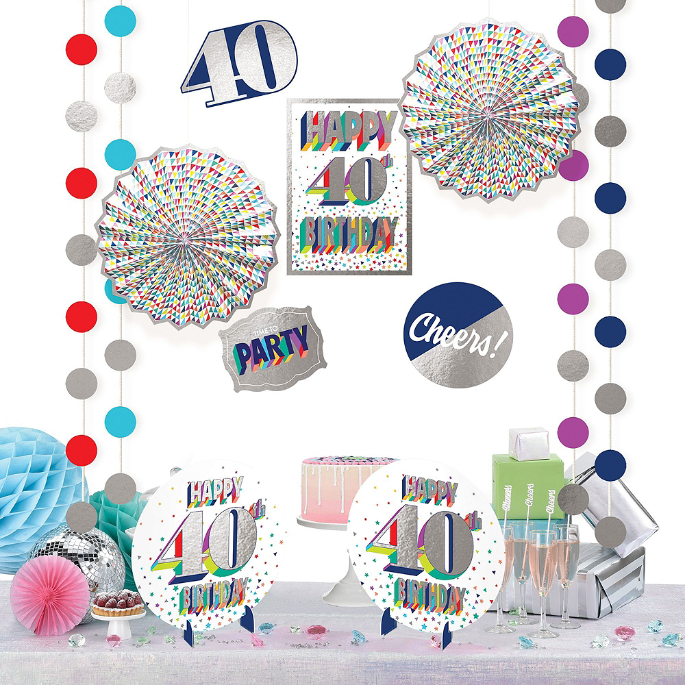 Here's to 40 Decorating Kit Image #3