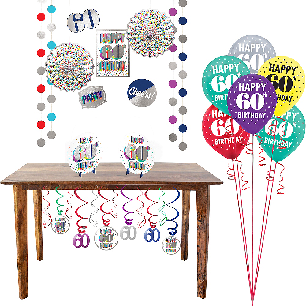 Here's to 60 Decorating Kit Image #1