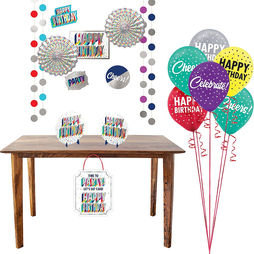Here's to Your Birthday Decorating Kit Image #1