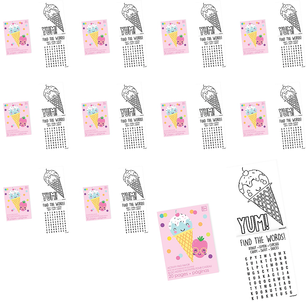 Too Sweet Activity Pads 48ct Image #1