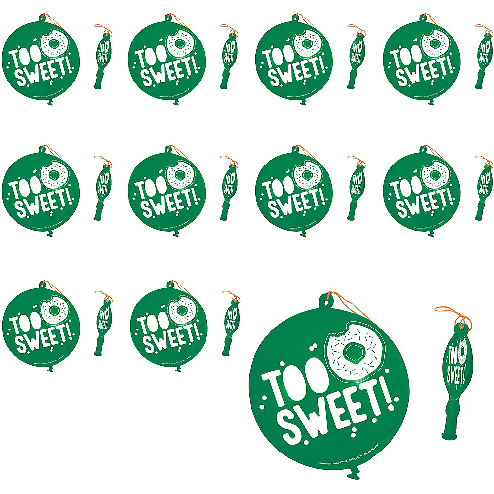 Too Sweet Punch Balloons 24ct Image #1