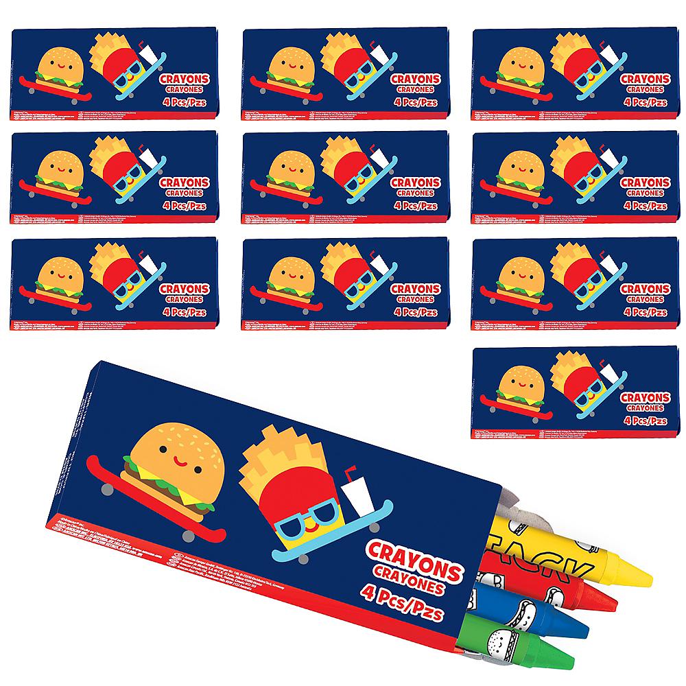 Snack Attack Crayon Boxes 48ct Image #1