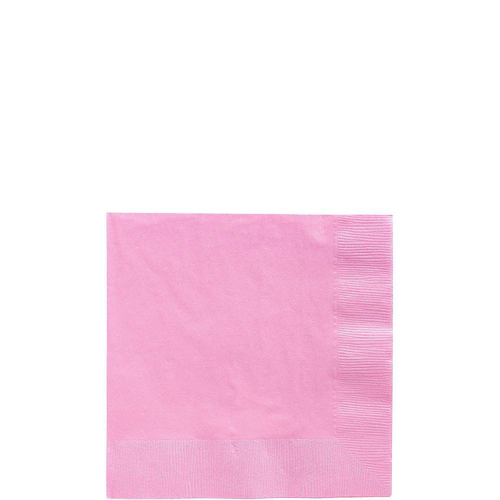 Nav Item for Pink Paper Tableware Kit for 50 Guests Image #4